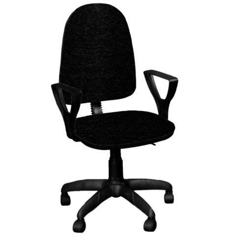 Кресло ПРЕМЬЕР 1 ткань черная