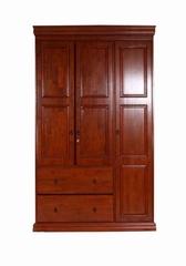 """Шкаф """"B3D-2DRW-WR"""" —  Rose Oak (Темная вишня) (MK-2117-RO)"""