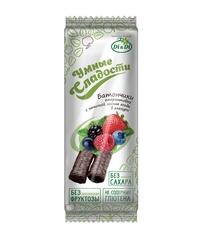 Батончики Умные сладости, Di&Di, лесные ягоды/сливочный, 20 г.