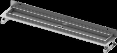 Дренажный канал для пристенного монтажа, прямой, 80 см