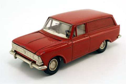 Moskvich-433 red (metal bottom) Agat Tantal Made in USSR 1:43