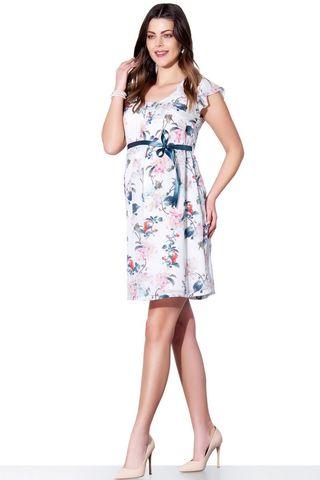 Платье 05577 белый