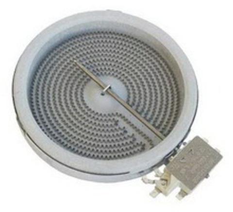 Конфорка для стеклокерамической варочной поверхности, мощность 1200W зона нагрева 145 мм