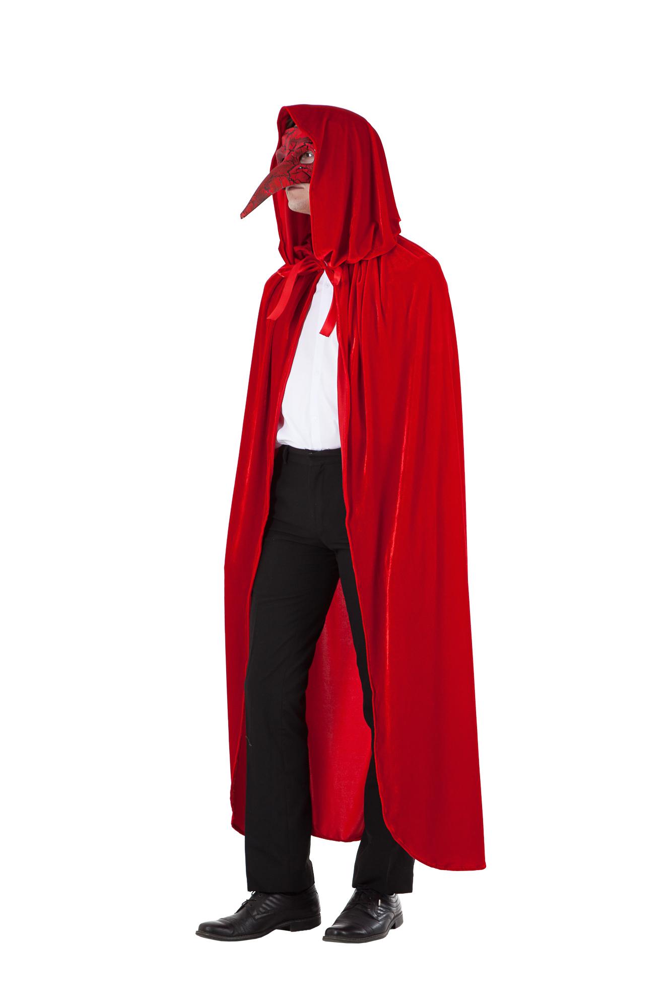 Костюм Доктора чумы красный, универсальный