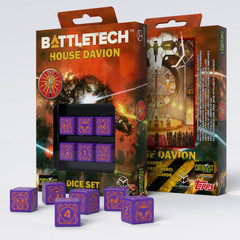 Battletech House Marik D6 Dice set (6)