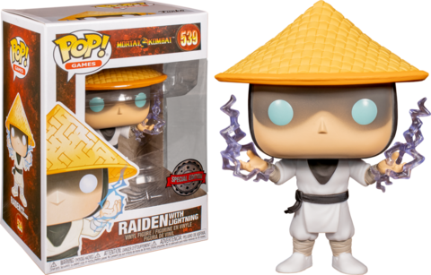 Mortal Kombat Raiden Funko Pop! Vinyl Figure || Рейден