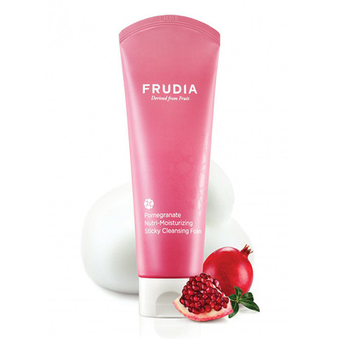 Пенка для умывания с гранатом Frudia Pomegranate Nutri-Moisturizing Sticky Cleansing Foam 145г