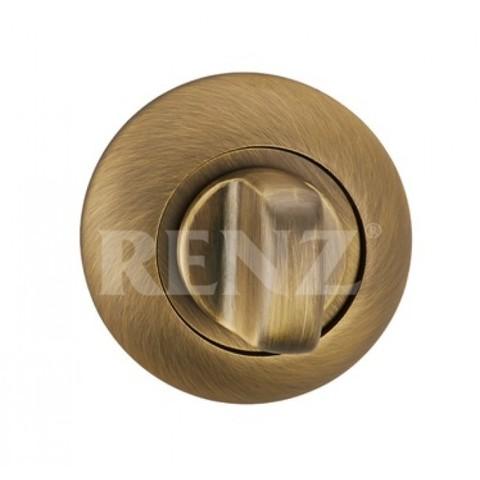 Завёртка К Ручкам  Renz BK 08, цвет бронза античная матовая