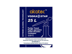 Спиртовые дрожжи Alcotec Vodkastar Turbo, 66 г