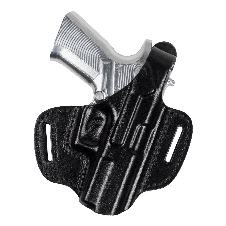 Кобура кожаная для пистолета Grand Power Т 15 поясная модель № 12 Стич Профи