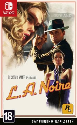 Nintendo Switch L.A.Noire (русские субтитры)