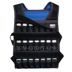 Жилет-утяжелитель «Компакт 3 » 42 кг размер 52-56