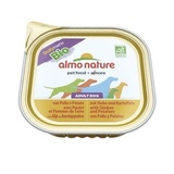 Almo Nature Daily Menu Bio - Pate Chicken&Potatoes Консервы для собак
