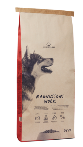 Корм для собак Magnusson Meat & Biscuit Work 14 кг