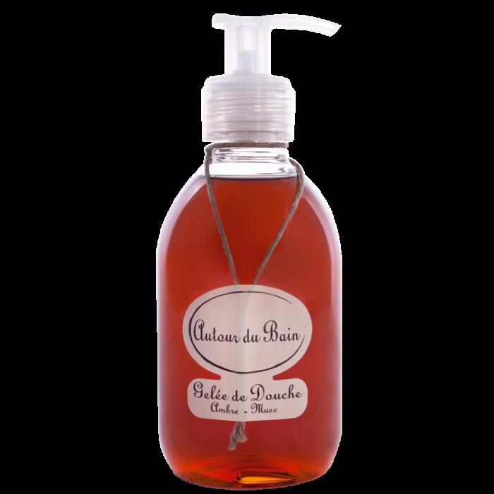 Autour Du Bain Гель для ванны и душа • Amber Musk/Янтарный Мускус • 250 мл (Гели и масла для ванны и душа)