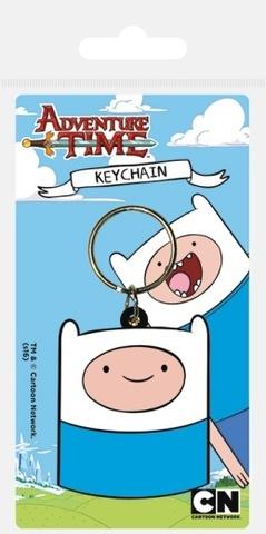 Брелок силиконовый Adventure Time Финн