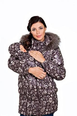 Куртка 04916 коричневый