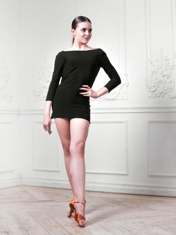 Платье-туника с качелью на спинке «Ника»