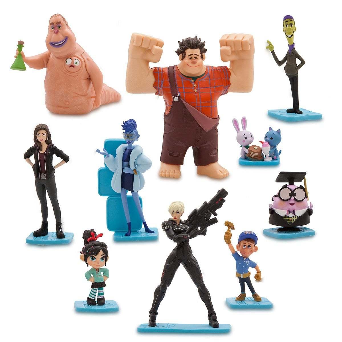 ральф против интернета набор фигурок купить статуэтки