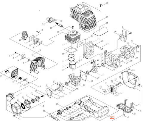 Бак топливный для лодочного мотора T3,5 Sea-PRO