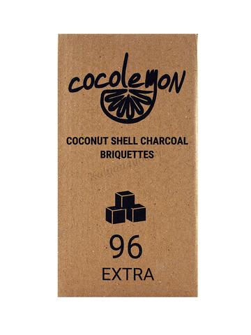 Уголь кокосовый «Cocolemon», 22 мм (96 шт., 1 кг.)