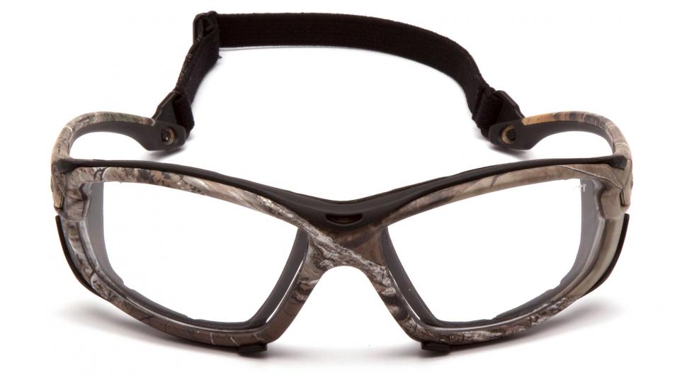 Очки баллистические тактические Pyramex Toccoa CHRT1010DTMP Anti-fog прозрачные 96%