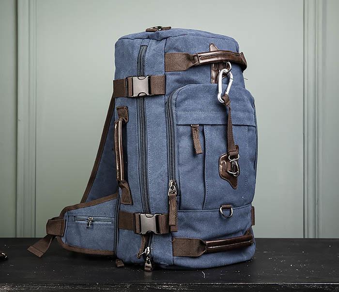 BAG479-3 Большая мужская сумка рюкзак трансформер фото 01