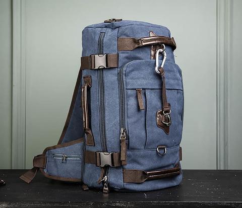 Большая мужская сумка рюкзак трансформер