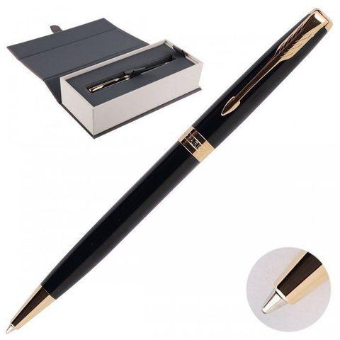1931497 Parker Sonnet Core Black Lacquer GT Шариковая ручка