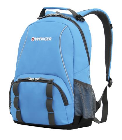 Рюкзак WENGER школьный цвет голубой 12903415 - Wenger-Victoronox.Ru