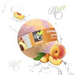 Бурлящий шар для ванн «Персик»