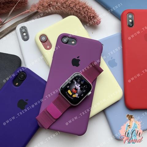 Ремешок Apple watch 38/40mm Milanese Loop /purple/ баклажан