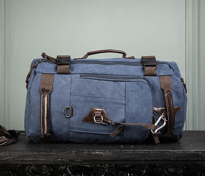 BAG479-3 Большая мужская сумка рюкзак трансформер фото 02