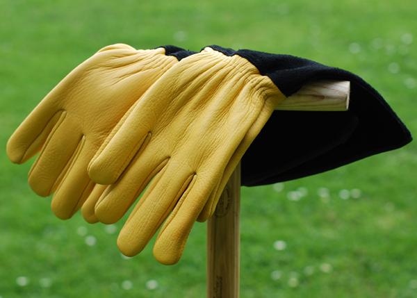 Садовые перчатки для роз GOLD LEAF «TOUGH TOUCH»