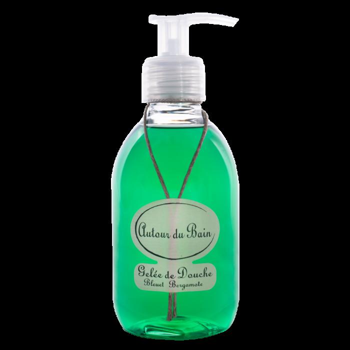 Autour Du Bain Гель для ванны и душа • Cornflower Bergamot/Василек с Бергамотом • 250 мл (Гели и масла для ванны и душа)