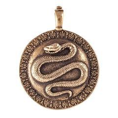 Щит  1 змей кулон