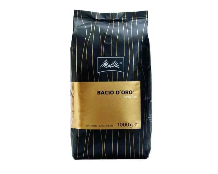 Кофе в зернах Melitta Espresso Bacio d'Oro