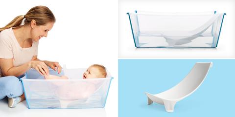 Набор Ванночка с поддержкой для новорожденного с рождения до 4 лет Stokke® Flexi Bath®