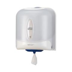 Диспенсер для полотенец Tork Reflex М4 с центр.вытяж. 473140 белый