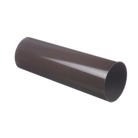 Труба водосточная 3м 85х73мм ПВХ Docke Standart Шоколад