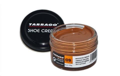 Крем для обуви из гладкой кожи, банка Tarrago SHOE Cream, 50мл. (94 цвета)