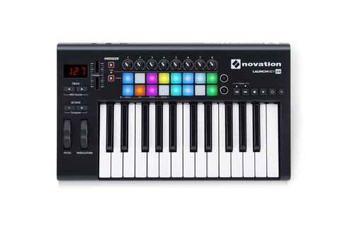 NOVATION LAUNCHKEY 25 MK2 USB-MIDI контроллер