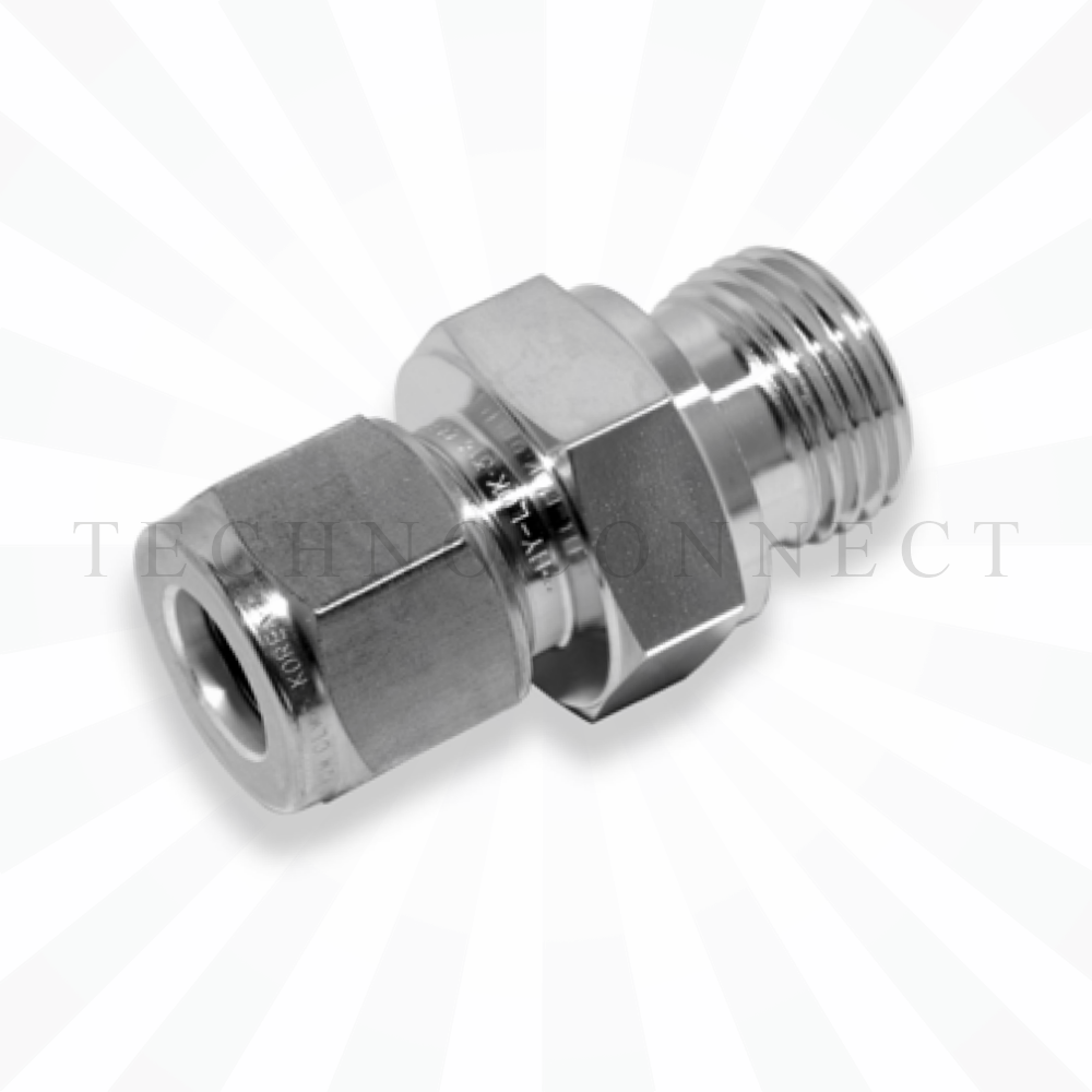 COMT-6M-4G  Штуцер для термопары: метрическая трубка 6 мм- резьба наружная G 1/4