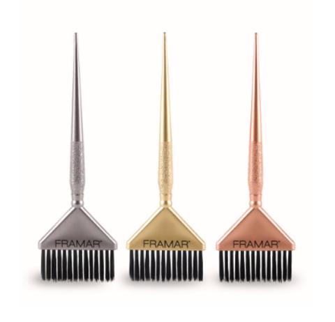 Big Daddy Metallic Brush Set  | Кисти для окрашивания широкие  3шт. (в наборе)