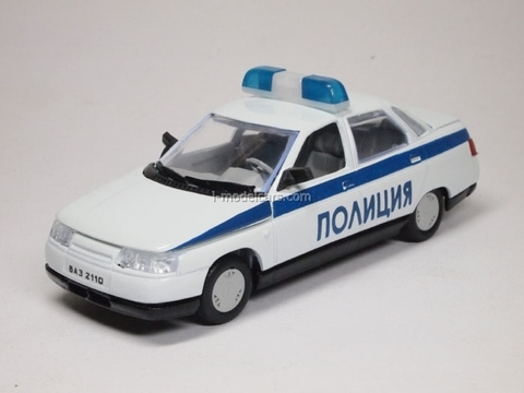 VAZ-2110 Lada Police Agat Mossar Tantal 1:43