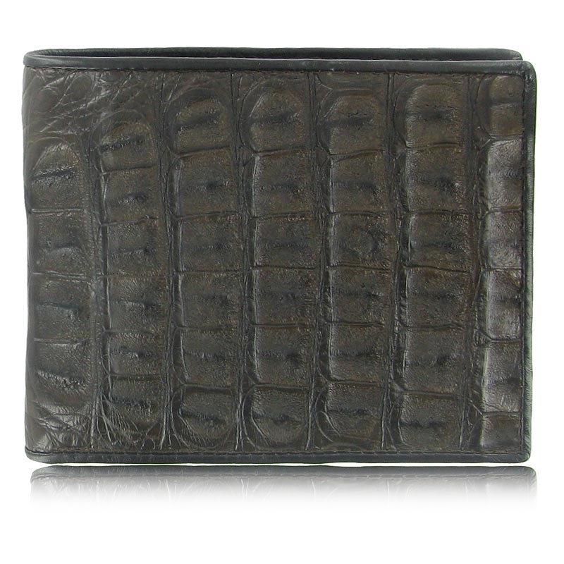 Мужской кошелек из кожи каймана (спинная часть) WR-109
