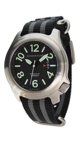 Купить Часы Momentum Steelix (нато полосатый, сапфир) по доступной цене