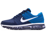 Кроссовки Мужские Nike Air Max 2017 Rubber Double Blue White