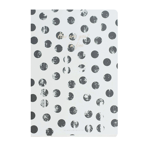 Тетрадь Black and White Dots