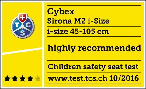 Автокресло Cybex Sirona M2 i-Size + Base M Isofix (до 18 кг)